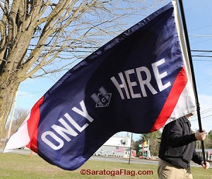 CLEVELAND INDIANS - ONLY HERE Flag 3x5ft