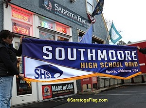 .SOUTHMOORE HIGH SCHOOL- PARADE BANNER- Printed