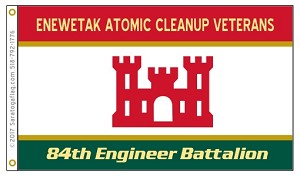 Limited Availabilty_Enewetak Atomic Cleanup Veterans Flag-Army Engineers