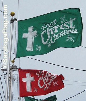 .Christmas Flag_Keep Christ in Christmas