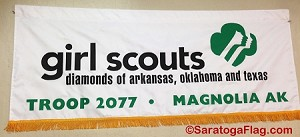 Custom Imprinted Cub Scout Banner