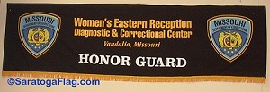 .MISSOURI DEPT OF CORRECTIONS HONOR GUARD- PARADE BANNER