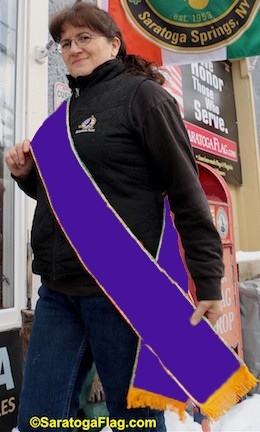 ..PARADE SASH-PURPLE