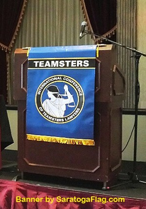 .Custom PODIUM BANNER  - TEAMSTER Lawyers