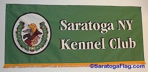 .SARATOGA KENNEL CLUB - PARADE BANNER