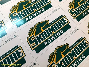 .SKIDMORE COLLEGE- Decals- Thoroughbred Sports Teams