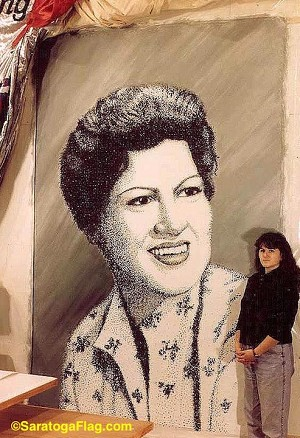 Painting- Backdrop - Patsy Cline