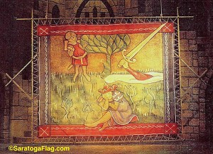 Painting- Backdrop - King Arthur Scrim- Camelot