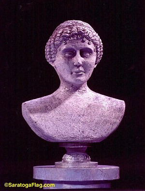 Sculpture- Bust- Female- Thieves Carnival