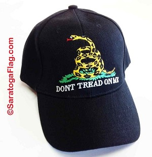 BALLCAP: GADSDEN Don't Tread On Me