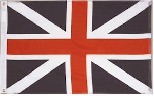 KINGS COLORS/ BRITISH UNION Flag