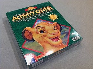 SOFTWARE- Lion King Activity Center CD-ROM-Macintosh-NEW