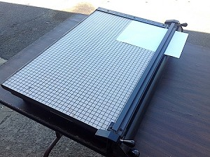 PAPER CUTTER- 24 inch- Vintage