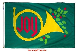 .Christmas Flag_Joy Horn