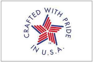 CRAFTED WITH PRIDE IN USA- Digital Print Flag