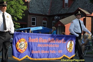 .SOUTH GLENS FALLS FIRE DEPT - PARADE BANNER