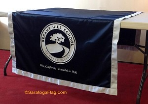 .BESANT HILL SCHOOL- TABLE RUNNER - Poly Twill