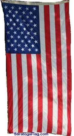 U.S.A. FLAG- Government Spec- 3.5x6.75ft Dyed Canton