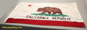 CALIFORNIA FLAG- 3x5ft Cotton - Vintage-SOLD