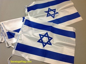 ISRAEL Flags on String
