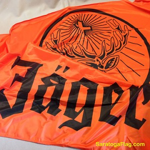 JAGERMEISTER- 5x8ft Orange Flag Vintage