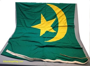 MAURITANIA- 6x9ft Flag Cotton Vintage
