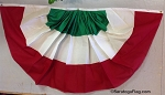 Bunting-Pleated Fans- ITALY- All Sizes-COTTON