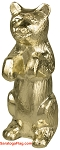 FINIAL: BEAR- Metal