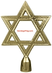 FINIAL: Star of David - Metal