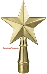 FINIAL: Texas Star - Metal
