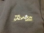 SALVATION ARMY Logo Polo Shirt - VINTAGE