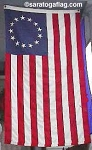 BETSY ROSS 13 Star USA Flag - Sewn- All Sizes