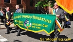 ...Custom PARADE BANNER- Ancient Order of Hibernians- EMBROIDERED