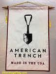.AMERICAN TRENCH PODIUM BANNER - Applique Stitch