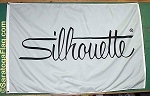 .SILHOUETTE OPTICAL- APPLIQUE Stitched Flag