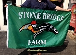 .STONE BRIDGE FARM - Custom Flag