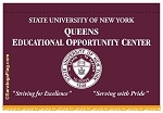.SUNY QUEENS-Custom WALL BANNER- Applique Stitched 4x6ft