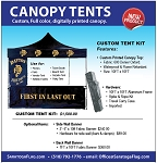 Custom Tent Kit- 10ft x 10ft