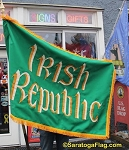 .IRISH REPUBLIC- Applique-stitched FLAG