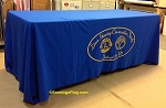 Custom TABLE COVER  - LIONS CLUB HEARING CONSERVATION