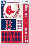 BOSTON RED SOX- DECAL SHEET 11x17 inch