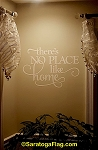Decorator Decal- No Place Like Home Lettering
