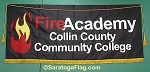 .COLLIN COUNTY COMMUNITY COLLEGE-Fire Academy- PARADE BANNER