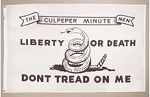 CULPEPPER MINUTEMEN FLAG