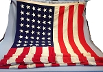 48 Star USA Flag- 5x9.5ft WOOL- Authentic - Vintage