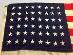 48 Star USA Flag- 3x5ft WOOL- Authentic - Vintage