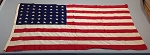 48 Star USA Flag- 3x5ft COTTON- Authentic - Vintage- SOLD