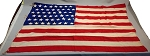 48 Star USA Flag- 4x6ft WOOL- Authentic - Vintage-SOLD