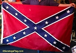 - CONFEDERATE BATTLE FLAG- Custom MADE IN USA- APPLIQUE stitched