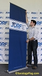 .JDRF- Custom RETRACTABLE BANNER- 7ft x 3ft: Pop-Up Banner